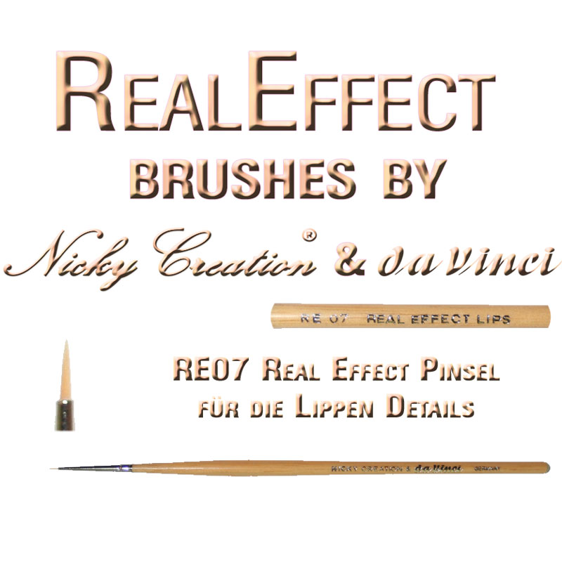 Real Effect RE08 Lips Special Nicky Creation & Da Vinci Germany