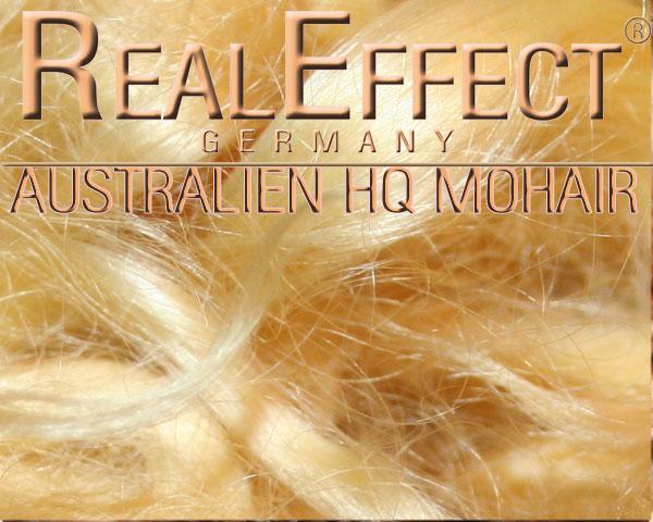 Australisches Mohair HQ goldblond WS 10g