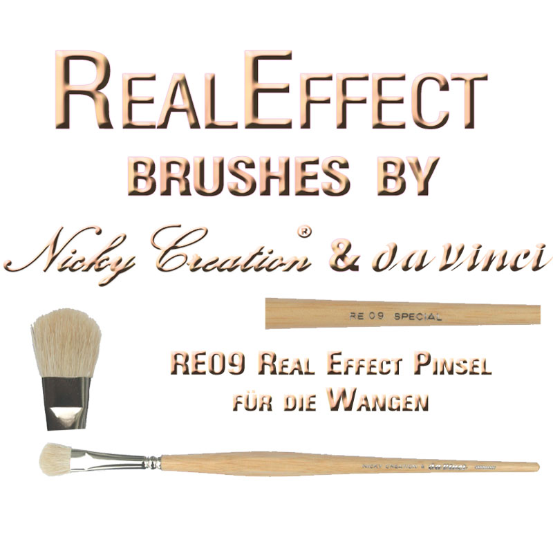 Real Effect RE10 Hair Painting Nicky Creation & Da Vinci Germany