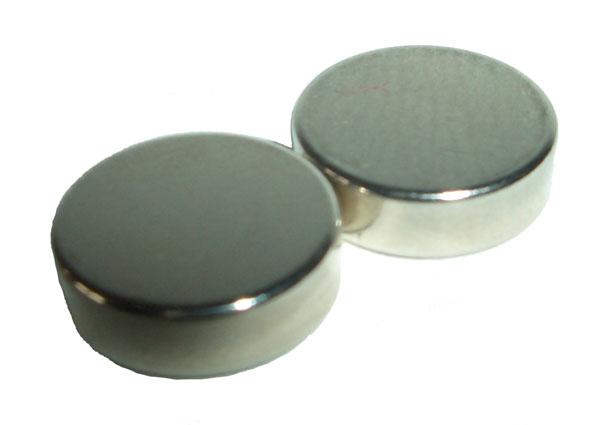 Magnet für Schnuller 10x3 hoher Magnetisierungsfaktor pro Paar