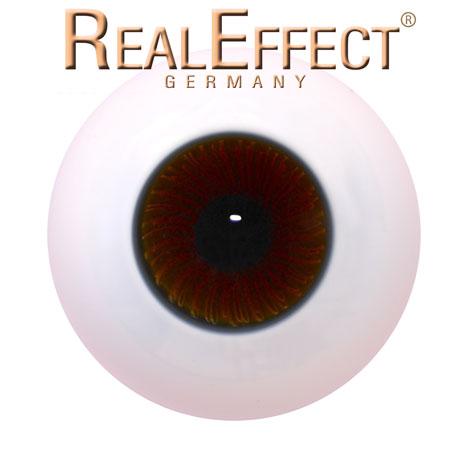 22mm Lauschaerglasaugen rehbraun kleine Iris