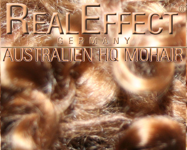 Australisches Mohair Kids HQ mittelbraun WS 10g