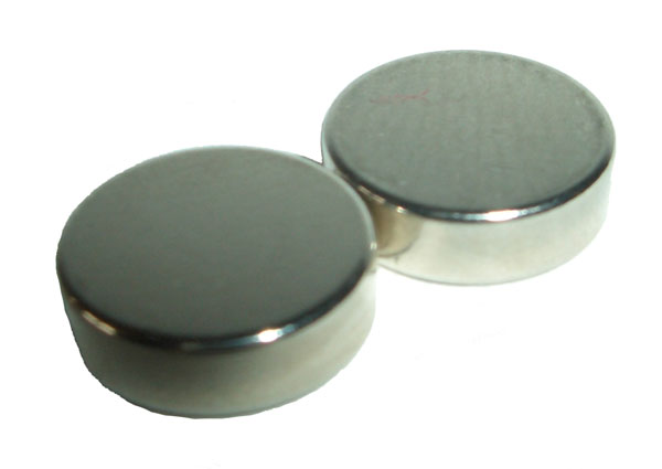 Magnet für Haarschleifchen 5x2 hoher Magnetisierungsfaktor pro Paar