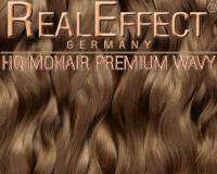 Premium Mohair HQ 10g Wavy F03 Baby Brown