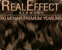 Premium Mohair HQ 10g Yearling F06 Chocolate brown