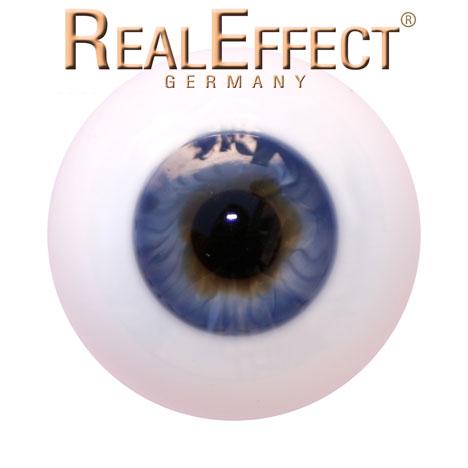 22mm Lauschaerglasaugen hellblau