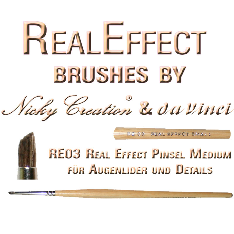 Real Effect RE04 Nose and Ears Nicky Creation & Da Vinci Germany