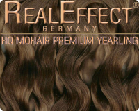 Premium Mohair HQ 10g Yearling F02 Light Brown